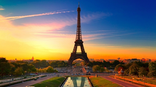 Sunset-paris-eiffel-tower-wallpaper-hd-for-desktop_large