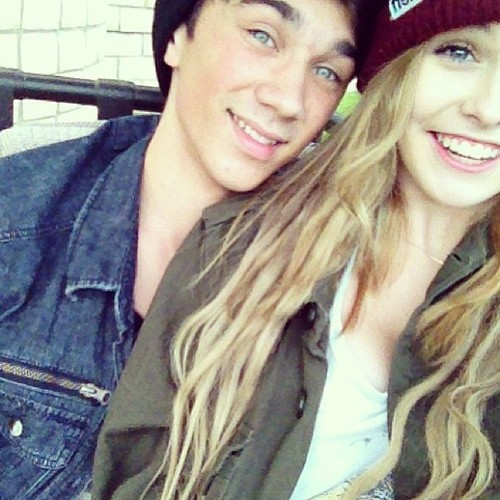 Acacia Brinley and Steven Diaz   We Heart It   couple and ...