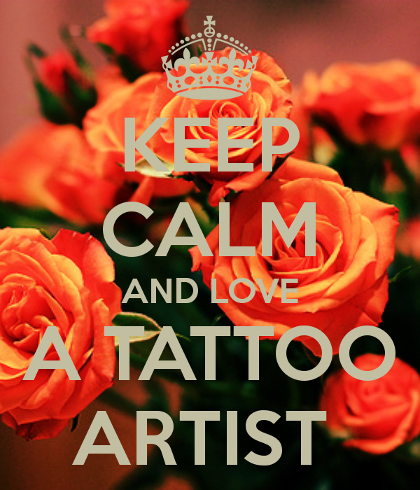 Is it hard dating a tattoo artist — photo 11