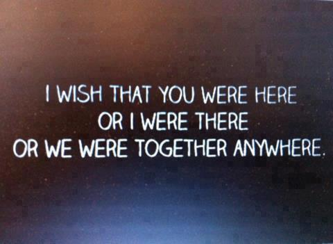 64359 508194205905534 569639842 n large Wish You Were Here With Me | via Facebook