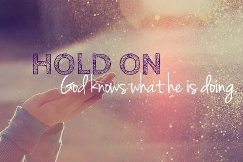 hold on | via Tumblr