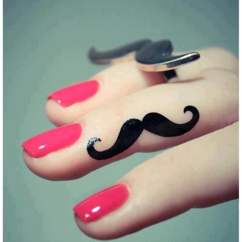 mustache | via Facebook