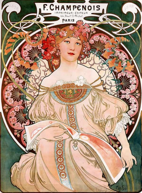 Art Nouveau: Alphonse Mucha