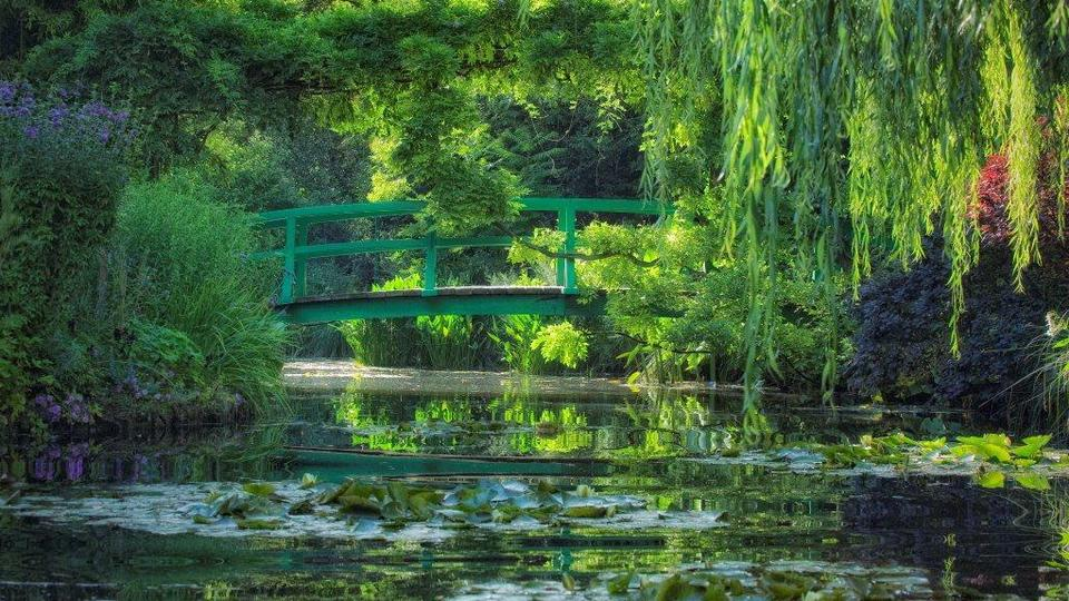Diaporama le jardin de claude monet giverny we heart it claude monet giverny and jardin - Livre le jardin de monet ...