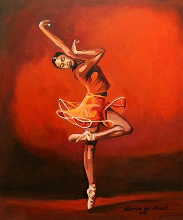 Famous African American Dance Paintings Group of Expressing your self