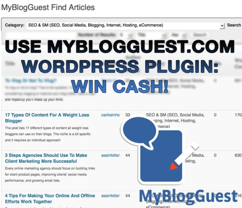 General - #Myblogguest Spring #contest Win up to 500$ just by using MBG Wordpress Plugin. - Interesting. Man. Things.