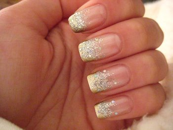 Gold nail designs! | Nochevieja | Pinterest | Gold nails, Gold ...