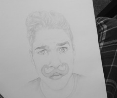 (CHEEKY) JACK HARRIES SKETCH