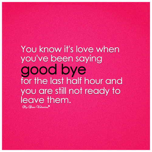 Quotes About I Love You Goodbye ~ Youre the one quotes quotesgram