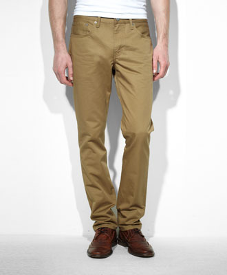 slim twill pants - Pi Pants