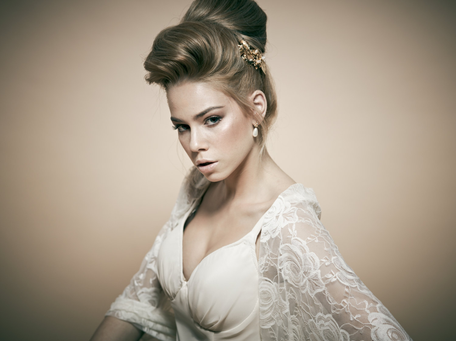 Bridal Hairstyles High Bun | Trend Hairstyle and Haircut Ideas