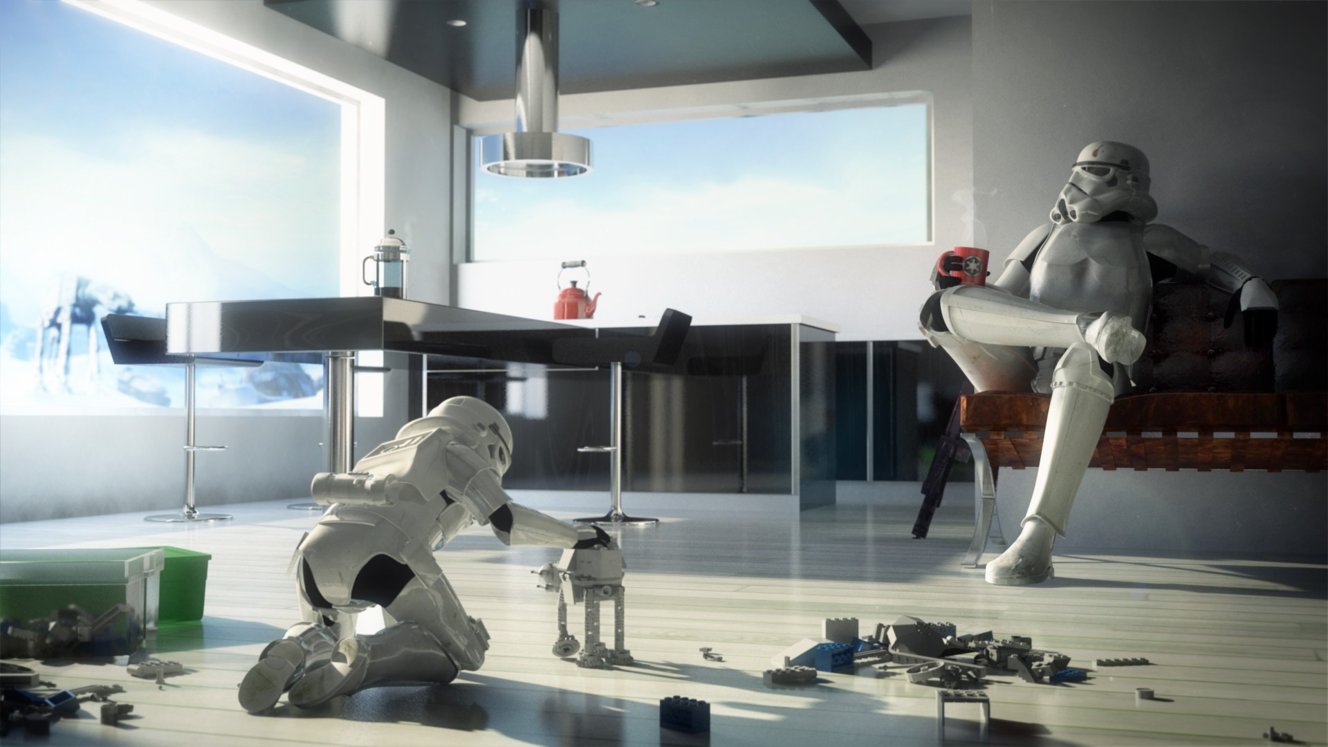 Science Wallpaper Bedroom Funny Family And Star Wars Image On We Heart It
