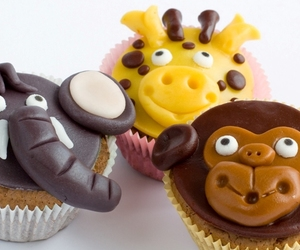 sweet animals cupcakes