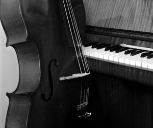 cello; piano; music