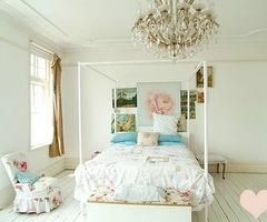 LoveLaughLauren: Shabby Chic Bedroom
