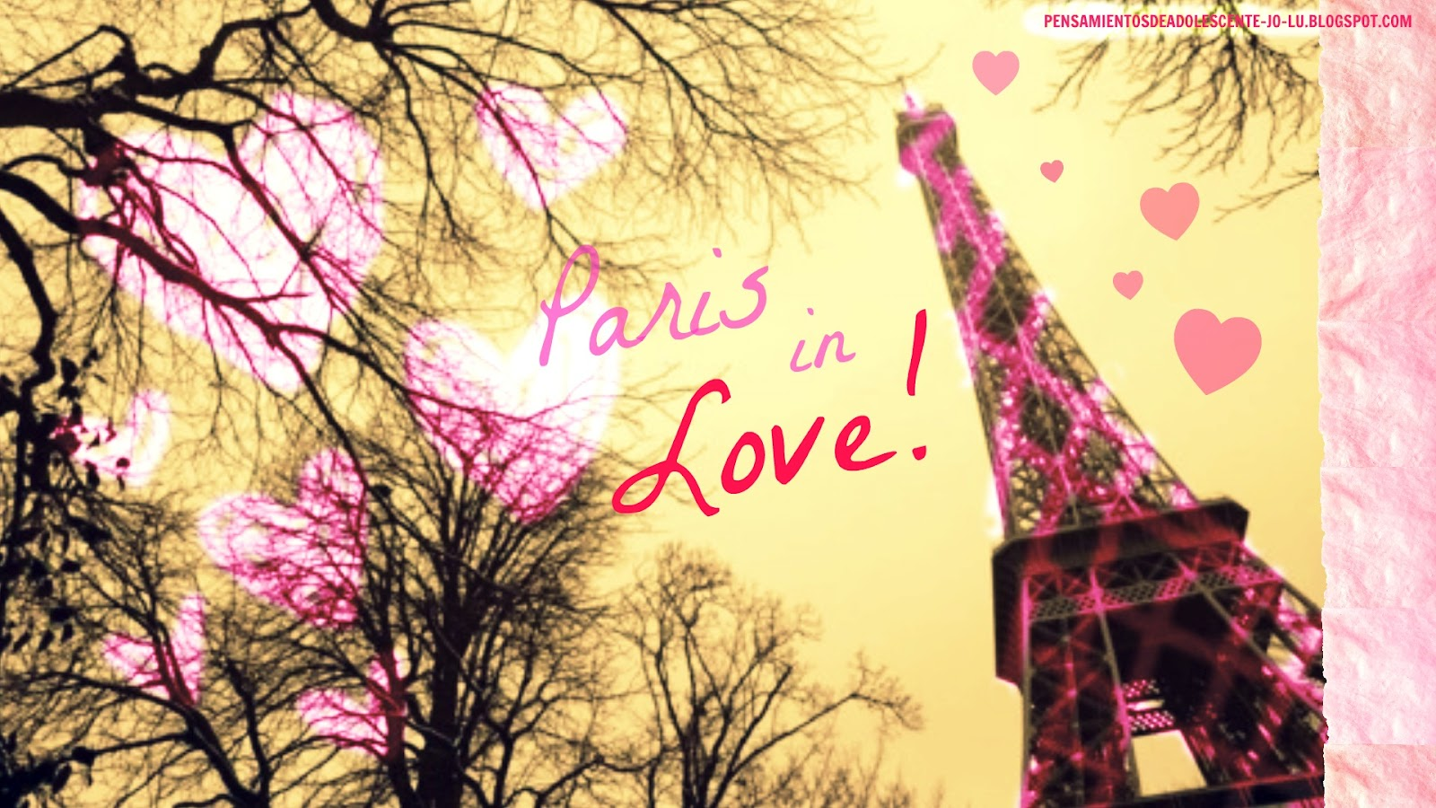 Wallpaper Love Live Tumblr : Paris Is LOVE???? We Heart It paris