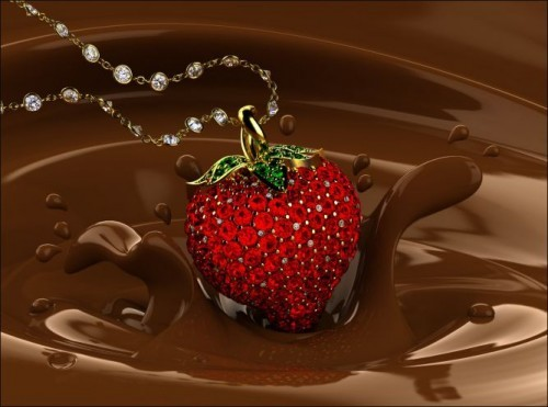 Art,chocolate,jewelry,strawberry,sweet,acccesories-4ca6216881ec7c3b522cd42676414c4e_h_large