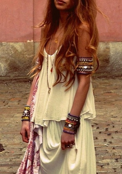 Sping Summer Look Girl Woman Beauty Fashion Style We Heart It Fashion Boho And Dress
