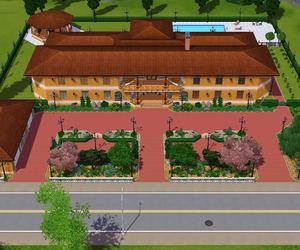 the sims 3; house;