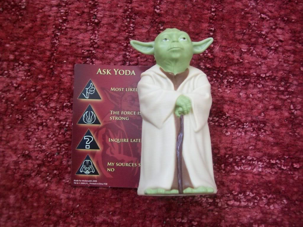 Star wars yoda figure bank (c: 1-1-3)