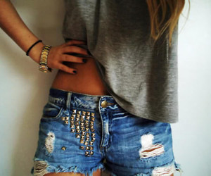 studded shorts | Tumblr