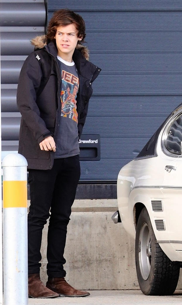 Harry Styles 2013 Casual Style For One Direction By Dottie | We Heart It