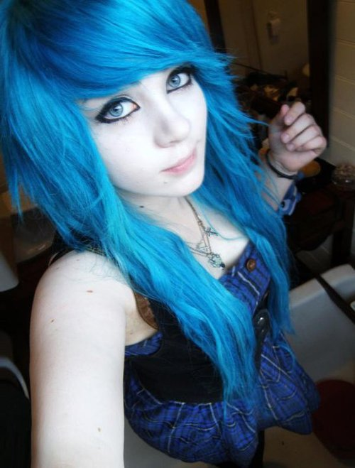 i am going to dye my hair blue babycenter