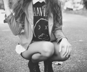 alternative, beautiful, black and white, fashion - inspiring picture on Favim.com