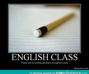 English class - FunSubstance.com