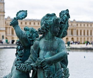 babies in the garden at Versailles by karigee, via Flickr