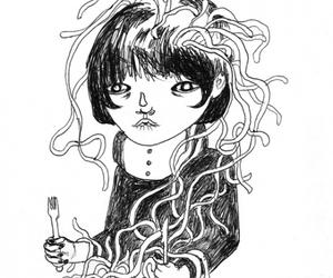 ilustration black&white