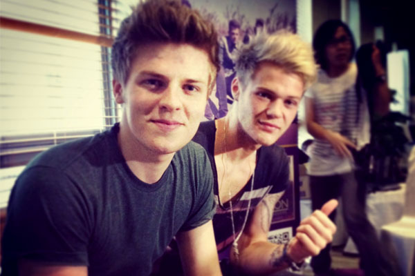 Joel Peat And Ryan Fletcher