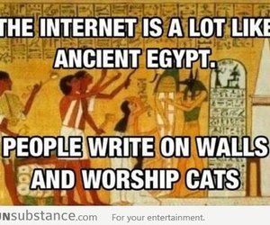 Internet vs Ancient Egypt - FunSubstance.com