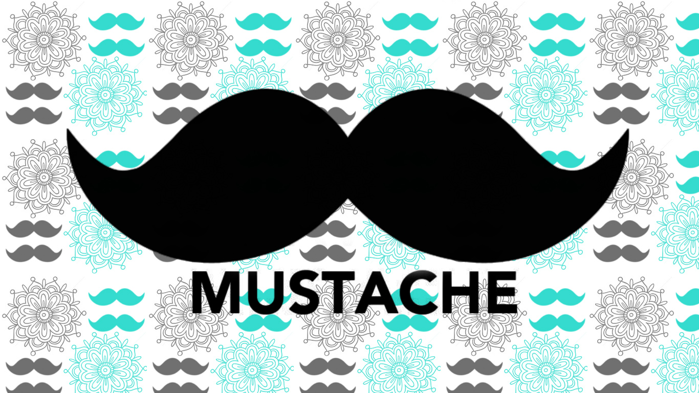 Group Of Awesome Mustache Wallpapers