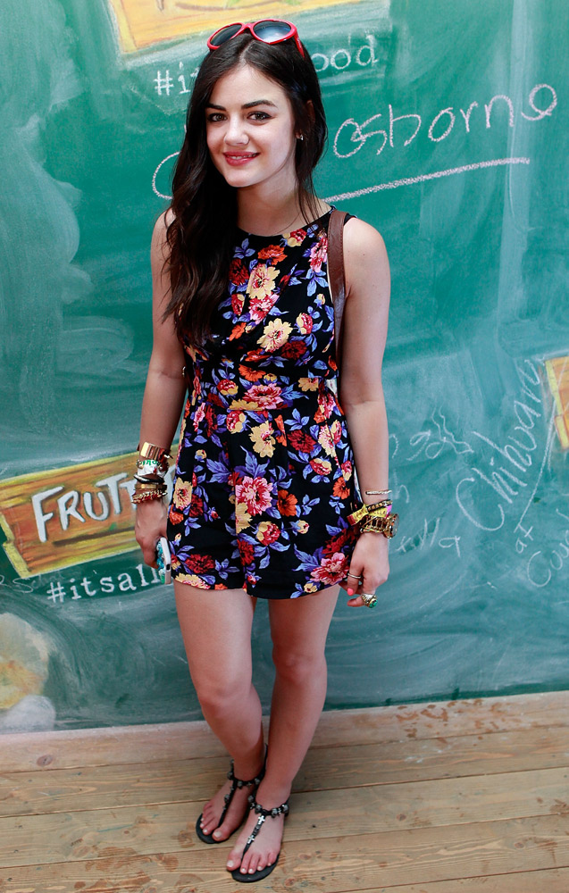 Daily Style Icon: Lucy Hale | We Heart It | lucy hale