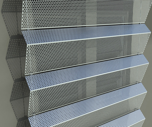 perforated metal design