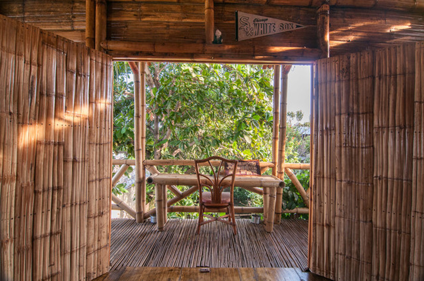 Bamboo House Sustainable Home Interior Design in Nicaragua
