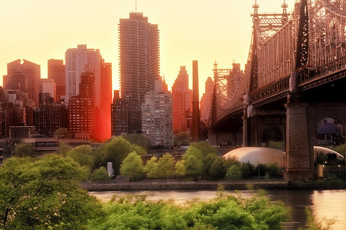 manhattanhenge _ the 59th street bridge | Flickr - Photo Sharing!