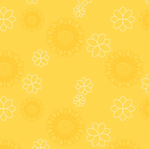 Group of: Yellow Floral Pattern » Background Labs | We Heart It