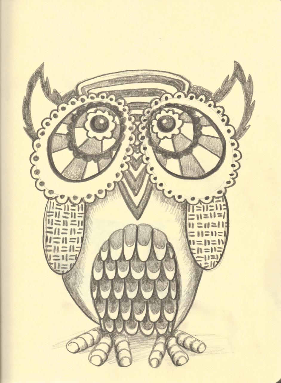 Owl Drawing Tumblr