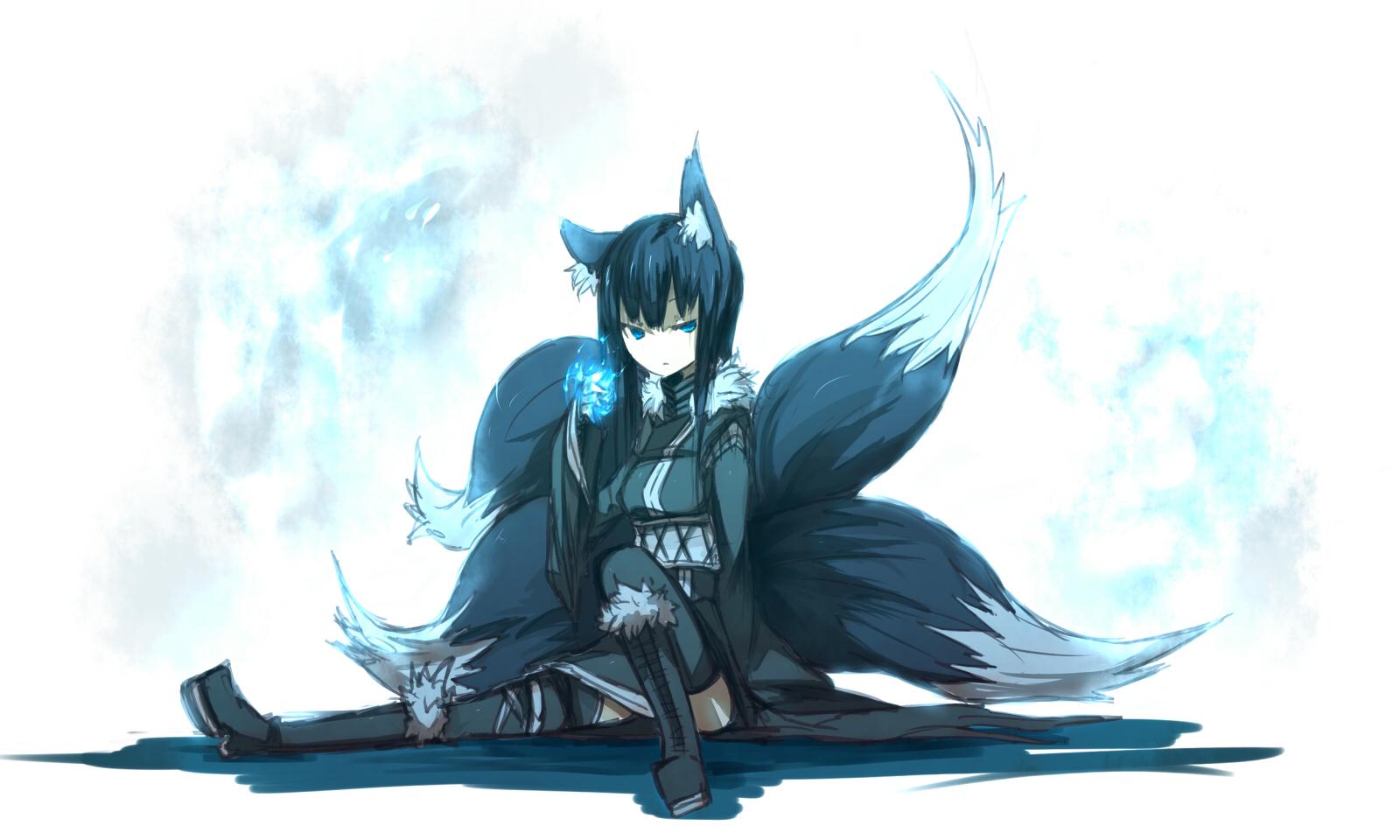 Kyubi no Kitsune | We Heart It | kitsune