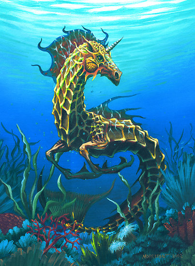 Fantasy Sea Creatures Group of Fantasy Sea