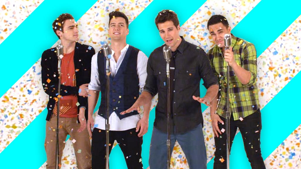 Big Time Rush Confetti Falling We Heart It big time rush