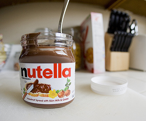 nutella. ♥ | via Tumblr
