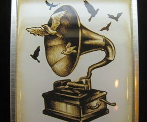 gramophone tattoo