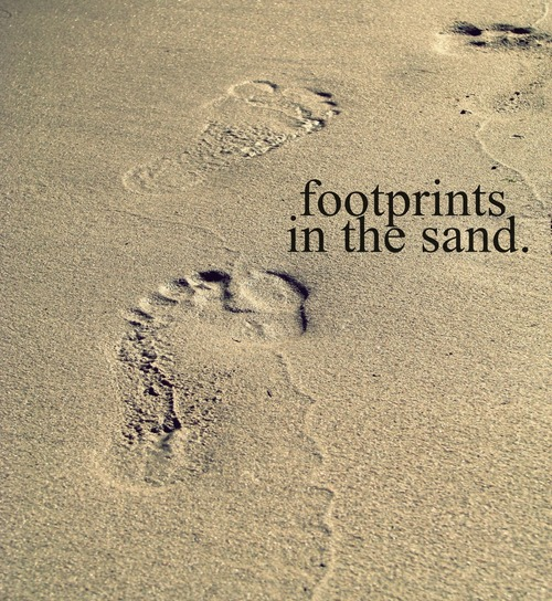 Footprints On The Beach Quotes | www.imgkid.com - The ...