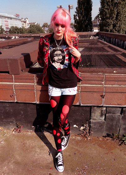 Punk Girl Style By Ntina Mills Whi