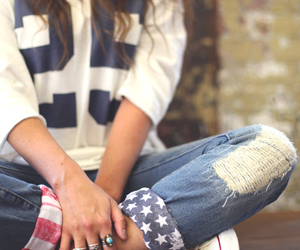 DIY American Flag Cuffs | Free People Blog