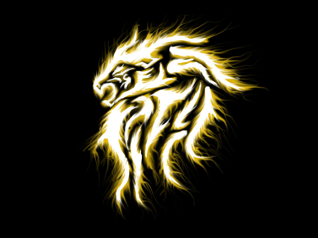 free designs lion in flame tattoo wallpaper free