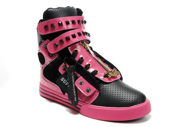 pink supras